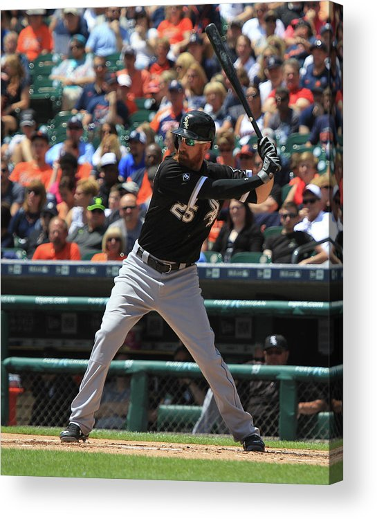 Adam Laroche Acrylic Print featuring the photograph Adam Laroche by Dave Reginek