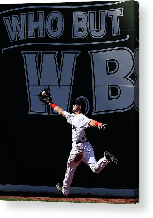 People Acrylic Print featuring the photograph Andrew Benintendi by Jim Rogash