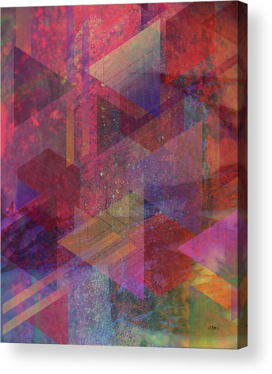 Another Place Acrylic Print featuring the digital art Another Place by John Robert Beck