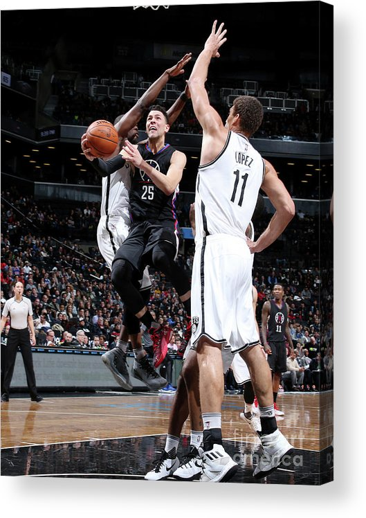 Nba Pro Basketball Acrylic Print featuring the photograph Austin Rivers by Nathaniel S. Butler