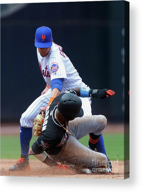 People Acrylic Print featuring the photograph Dee Gordon by Jim Mcisaac