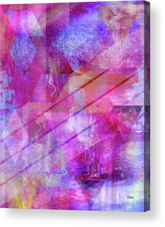 Dragon's Kiss Acrylic Print featuring the digital art Dragon's Kiss by John Robert Beck