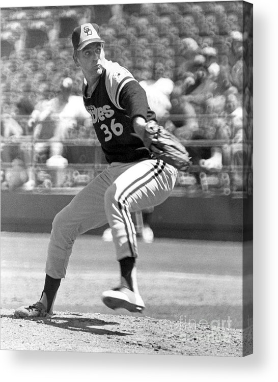 Ancient Acrylic Print featuring the photograph Gaylord Perry by National Baseball Hall Of Fame Library