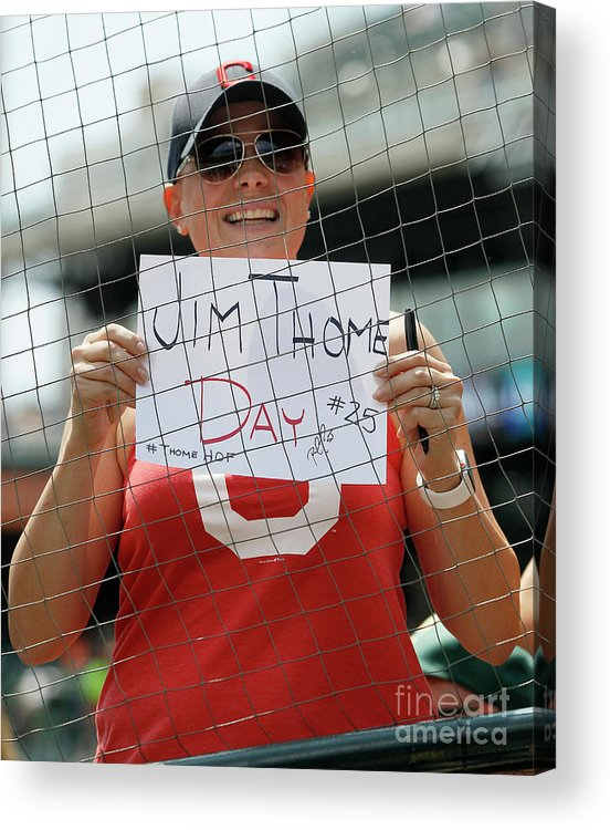 People Acrylic Print featuring the photograph Jim Thome by Duane Burleson