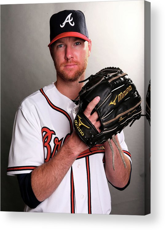 Media Day Acrylic Print featuring the photograph Jonny Venters by Elsa