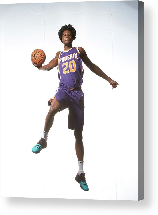 Nba Pro Basketball Acrylic Print featuring the photograph Josh Jackson by Nathaniel S. Butler