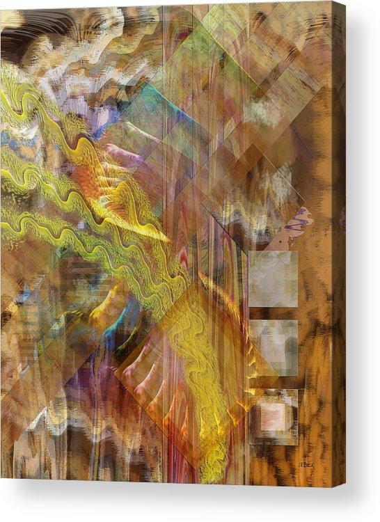 Morning Dance Acrylic Print featuring the digital art Morning Dance by John Robert Beck