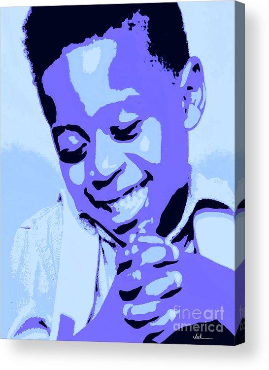 Pray Acrylic Print featuring the painting Precious Prayers by Jack Bunds