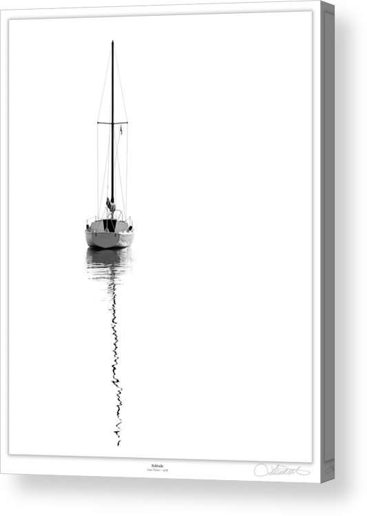 Tahoe Acrylic Print featuring the photograph Solitude by Lar Matre