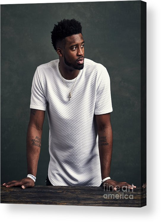 Event Acrylic Print featuring the photograph Wesley Matthews by Jennifer Pottheiser