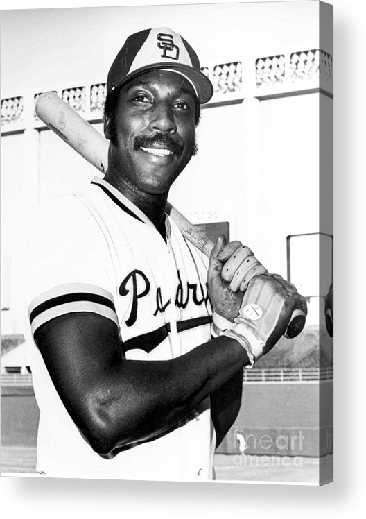 People Acrylic Print featuring the photograph Willie Mccovey by National Baseball Hall Of Fame Library