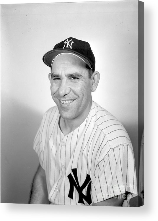 People Acrylic Print featuring the photograph Yogi Berra by Olen Collection