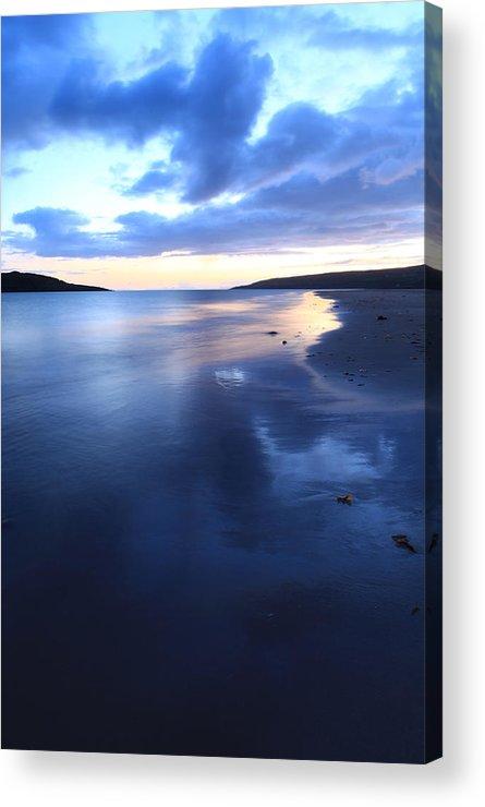 Scotland Acrylic Print featuring the photograph Gairloch Big Sand Beach Scotland by Ollie Taylor