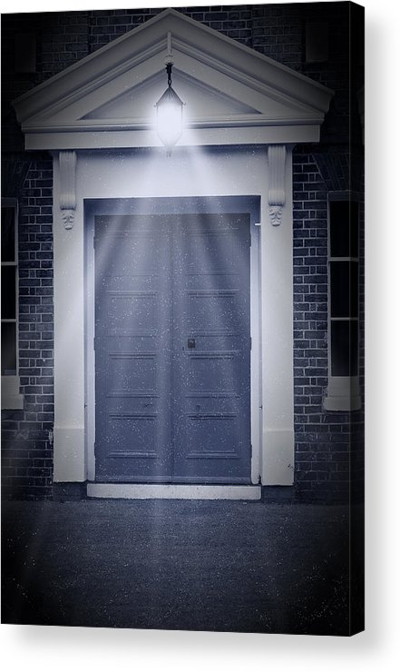 Apartment Acrylic Print featuring the photograph Blue Door by Svetlana Sewell