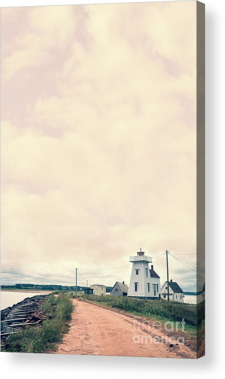 Prince Acrylic Print featuring the photograph Coastal Town by Edward Fielding