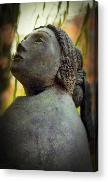Zen Acrylic Print featuring the photograph Serenity Repose by Terri McCracken
