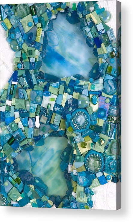Water Acrylic Print featuring the photograph Stream Of Life by Valerie Fuqua