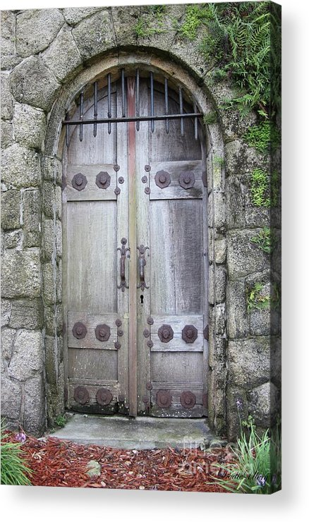 Door Acrylic Print featuring the photograph The Portal by Dodie Ulery