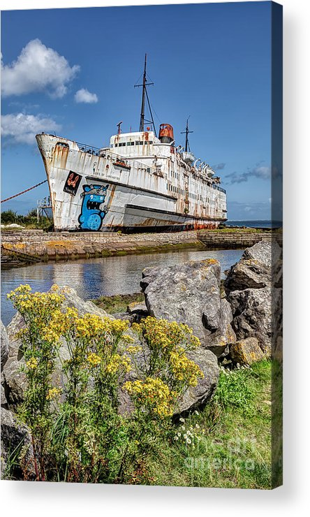 Abandoned Acrylic Print featuring the photograph The Duke by Adrian Evans