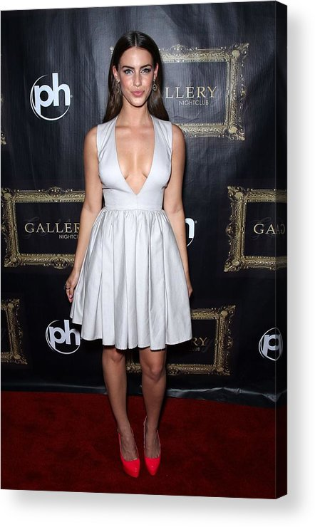 Jessica Lowndes Acrylic Print featuring the photograph Jessica Lowndes At Arrivals For Jessica by Everett