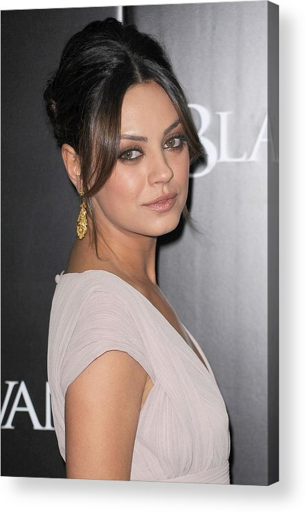 Mila Kunis Acrylic Print featuring the photograph Mila Kunis At Arrivals For Black Swan by Everett