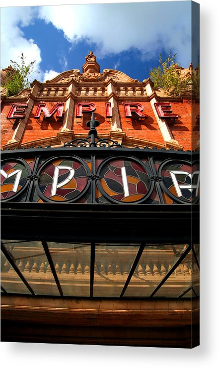 Jezcself Acrylic Print featuring the photograph Once Was An Empire by Jez C Self