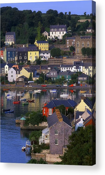 Boat Acrylic Print featuring the photograph Kinsale, Co Cork, Ireland Boats And by The Irish Image Collection