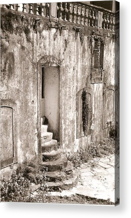 Photograph Acrylic Print featuring the photograph Ancient Door Way by Patricia Bigelow