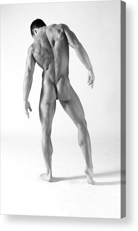 Male Acrylic Print featuring the photograph Back A by Dan Nelson