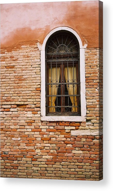 Window Acrylic Print featuring the photograph Brick Window by Kathy Schumann
