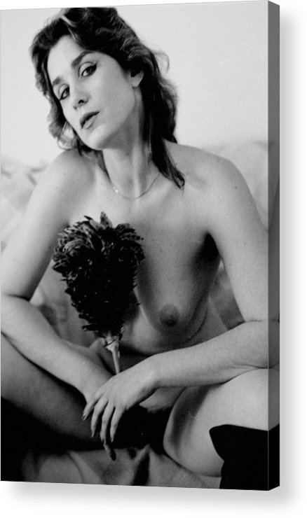Ero Acrylic Print featuring the photograph Cleening Girl by John Toxey