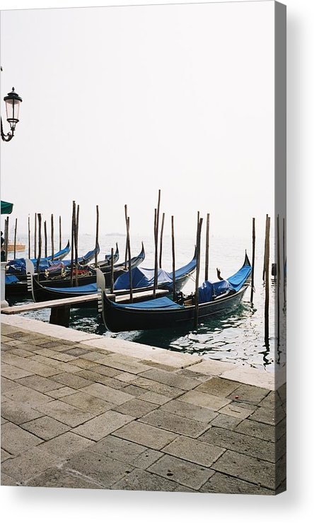 Gondola Acrylic Print featuring the photograph Gondola's by Valerie Lynn