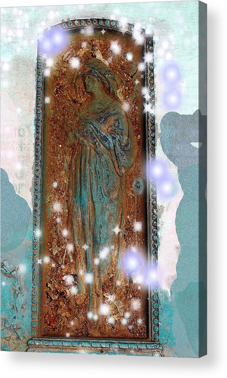 Hollywood Cemetery Acrylic Print featuring the photograph Heaven's Doorway by Patricia Motley