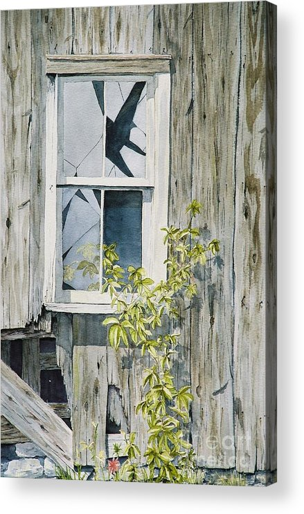 Barn Acrylic Print featuring the painting Inner Beauty by Jackie Mueller-Jones
