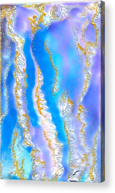 Acrylic Print featuring the painting Islands In My Heart by Heather Hennick