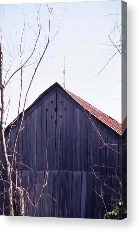 Acrylic Print featuring the photograph Lloyd Shanks Barn1 by Curtis J Neeley Jr