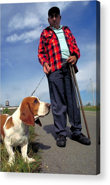 Dog Acrylic Print featuring the photograph Man's Best Friend by Carl Purcell