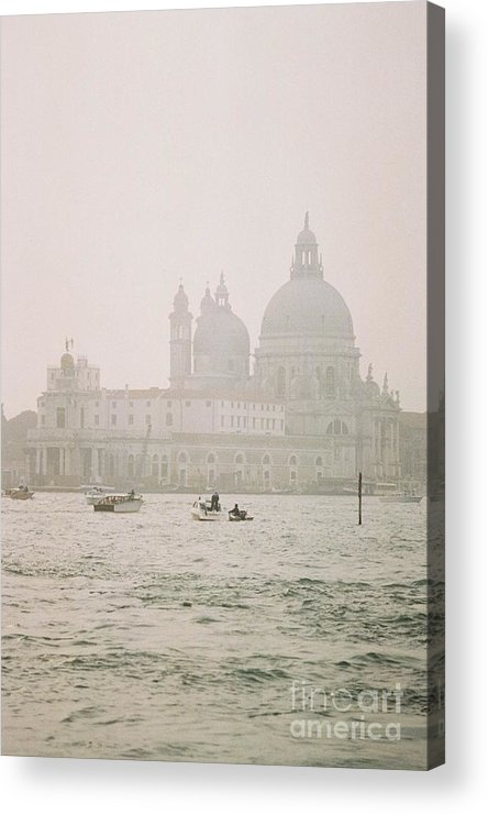 Acrylic Print featuring the photograph Misty Morning In Venice by Valerie Lynn
