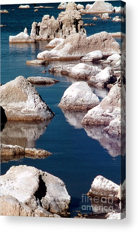 California Scenes Acrylic Print featuring the photograph Mono Lake Tufa by Norman Andrus
