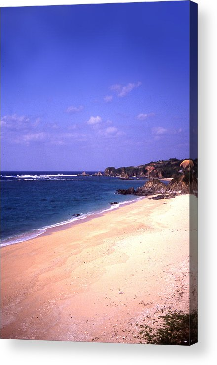 Okinawa Acrylic Print featuring the photograph Okinawa Beach 22 by Curtis J Neeley Jr