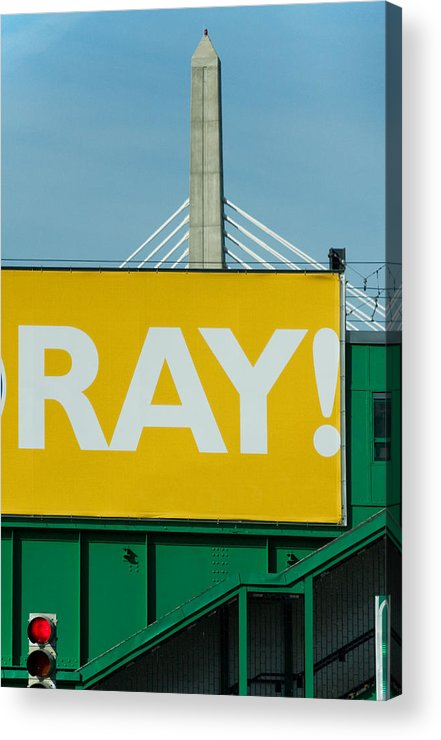 Urban Acrylic Print featuring the photograph Ray by Art Ferrier