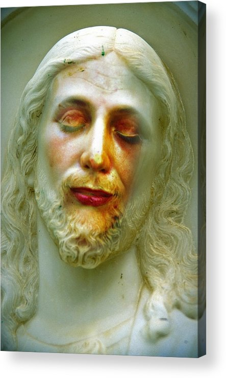 Jesus Acrylic Print featuring the photograph Shesus by Skip Hunt