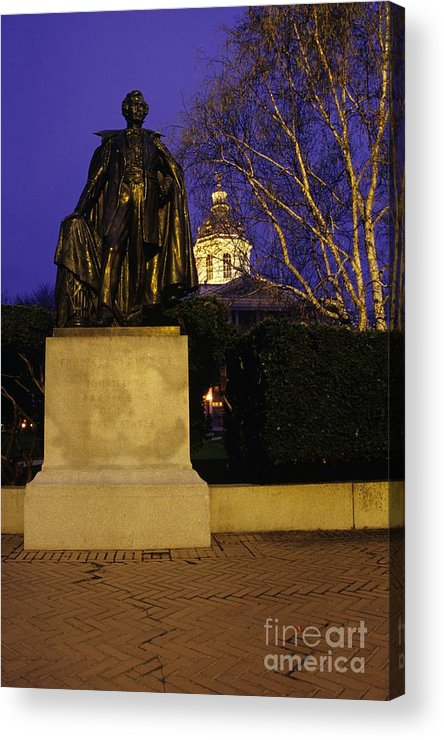 Concord Acrylic Print featuring the photograph State Capitol Building - Concord New Hampshire Usa by Erin Paul Donovan