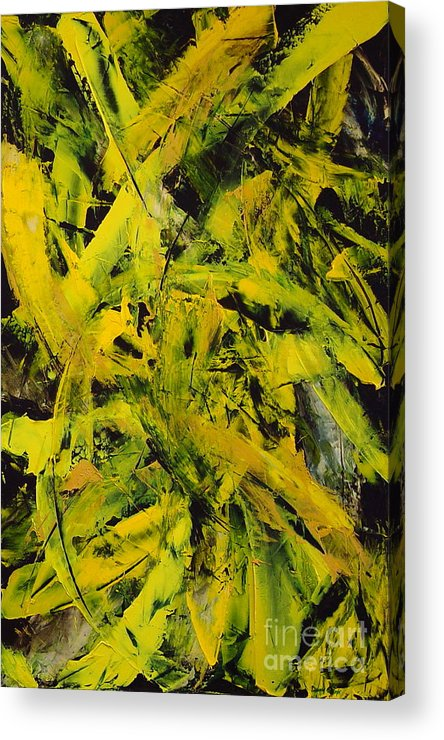 Abstract Acrylic Print featuring the painting Transitions Vi by Dean Triolo
