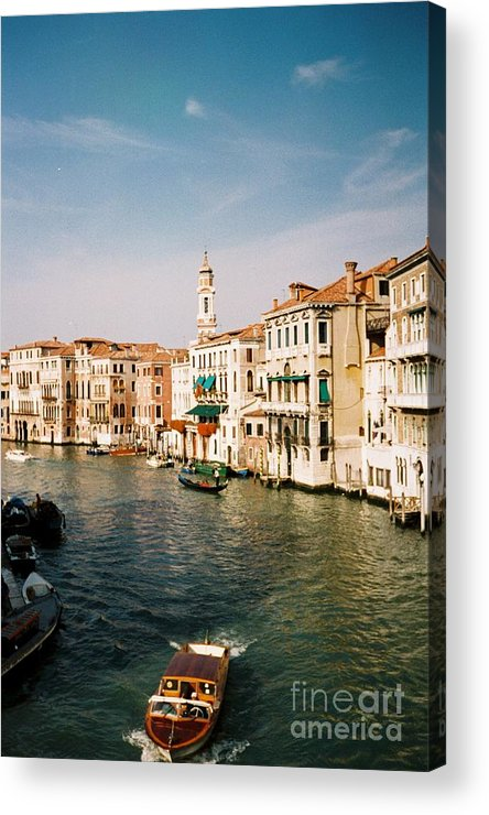Venice Acrylic Print featuring the photograph View Of Venice by Valerie Lynn