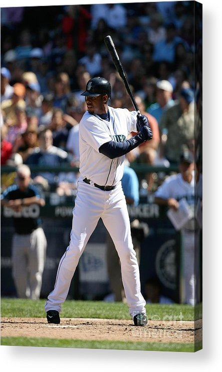 People Acrylic Print featuring the photograph New York Yankees V Seattle Mariners 15 by Otto Greule Jr