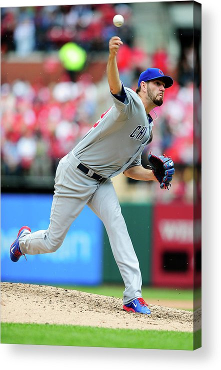 St. Louis Acrylic Print featuring the photograph Jason Hammel by Jeff Curry