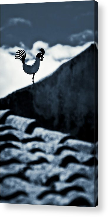 Roof Acrylic Print featuring the photograph Herald Of The Dawn by Michele Mule