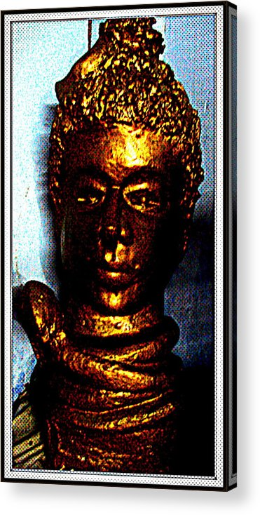 Sculptures Acrylic Print featuring the sculpture Lord Shiva by Anand Swaroop Manchiraju