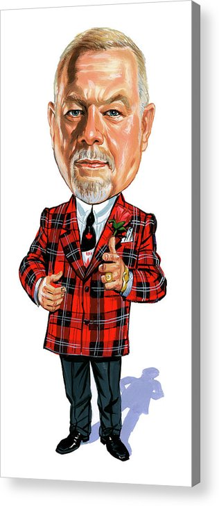 Don Cherry Acrylic Print featuring the painting Don Cherry by Art